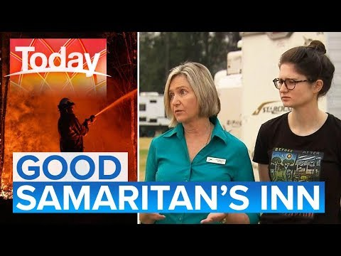 Batemans Bay motel owners taking in firies and locals | Today Show Australia