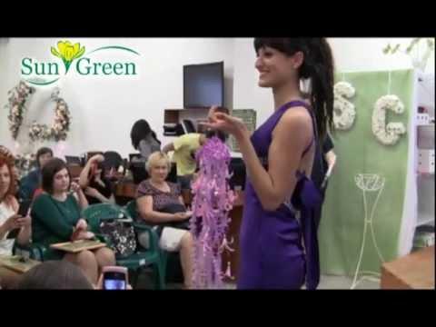 Учебный фильм по флористике №2 Свадебные мечты