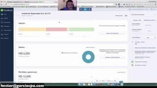 Como usar QuickBooks Online En Español (fuera de Estados Unidos)