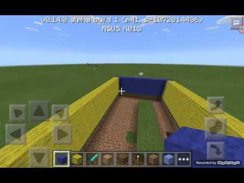 Minecraft market yapımı