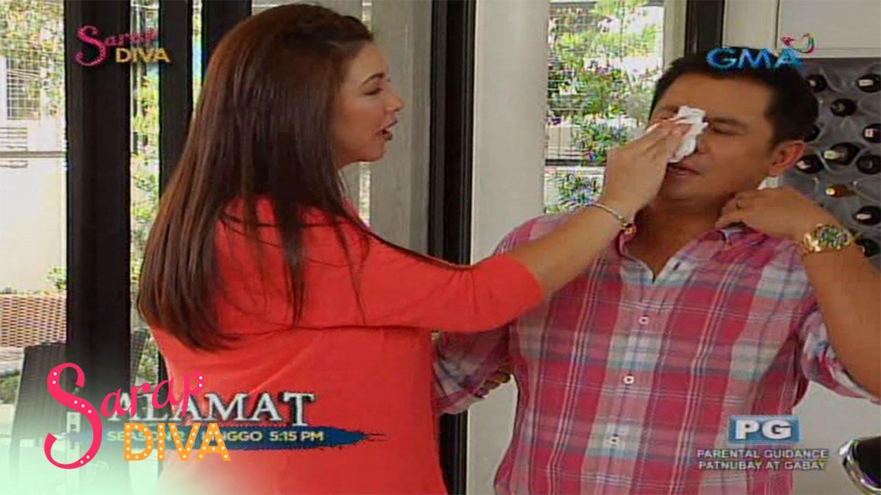 Sarap Diva: Ogie Alcasid at Baby Nate, bisita sa 'Sarap Diva'