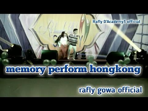 Memori show di hongkong rafly gowa D'Academy3 2017