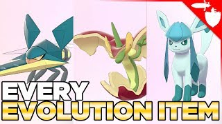 How to Get Every Evolution Stone & Item in Pokemon Sword and Shield