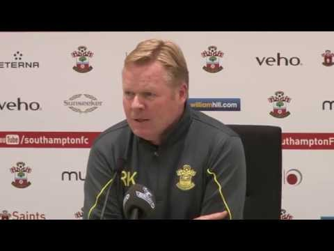 PRESS CONFERENCE: Ronald Koeman pre-Man City
