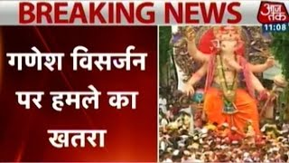 Terror alert in Mumbai; security beefed-up for Ganesh Visarjan