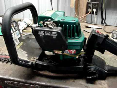 Fixing the Weed Eater Hedge Trimmer's Fuel Lines
