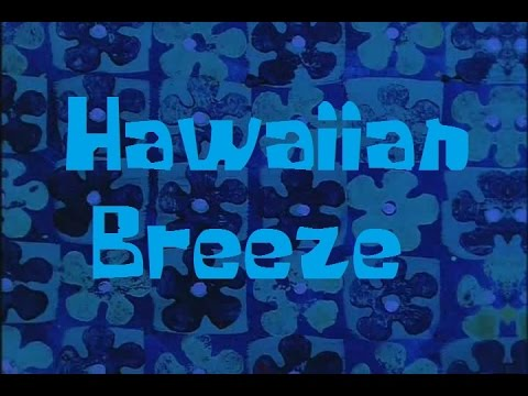 SpongeBob Production Music Hawaiian Breeze