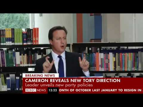 David Camerwrong presents a new Vision for Britain