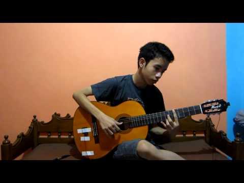 (joget Cesar) Buka Dikit Joss - Marko Savana (classical Guitar) video