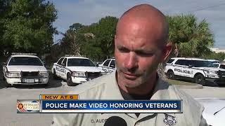 Tampa police pay tribute to veterans with powerful music video