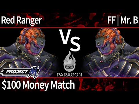 Paragon PM - Red Ranger (Ganon) vs FF | Mr. B (Ganon) - $100 Money Match