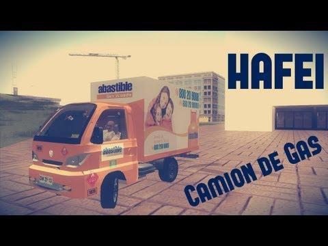 Hafei Camion de Gas