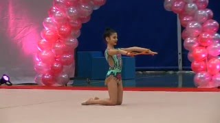 "Naz izan - RG ""Brussel Cup 2016"" ( rope category)"