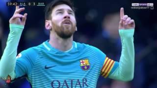 اهداف مباراة برشلونة وديبورتيفو الافيس 6-0 الدوري الاسباني [شاشة كاملة ] 11-02-2017-HD