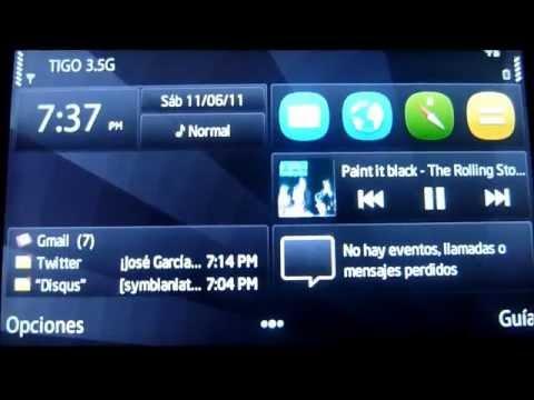 CFW Symbian Anna v6.2 para Nokia 5800 5530 5230 y X6