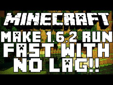 How To Run Minecraft 1.6.4 With No Lag!!