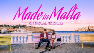 MADE IN MALTA Official Trailer (2019) | Travel Romance Movie