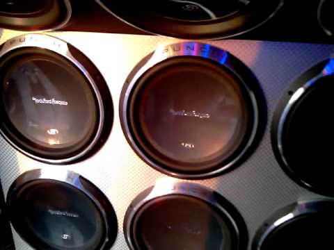 rockford fosgate van (crazy bass)