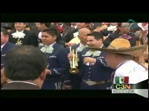 700 mariachis rompen el record guinness en Jalisco
