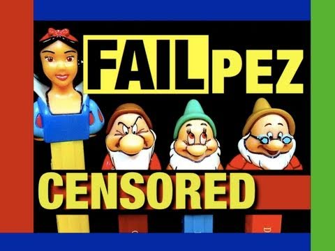 FAIL or WIN? YOU DECIDE! Snow White PEZ Christmas 2010 Toy Review Mike Mozart @JeepersMedia
