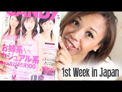1st Week in Japan 日本の一週目  //  Blizzard Recap 吹雪の日