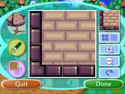 How To Make My Animal Crossing Path Patterns YouTube