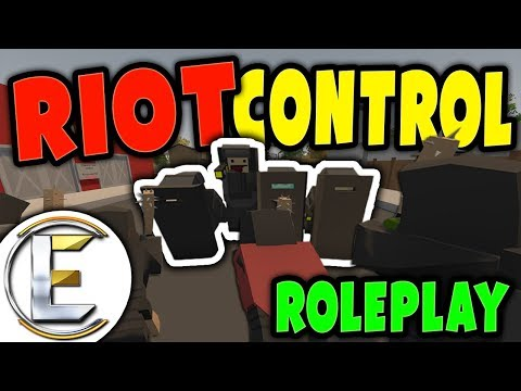 RIOT CONTROL ROLEPLAY | Very dangerous situation, All make your way home ( Unturned RP ) thumbnail
