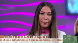 A rusnyázó műsorvezető bocsánatot kért a kijelentései miatt - tv2.hu/mokka