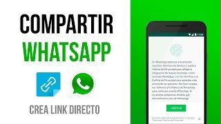 Crear ENLACE DIRECTO a un chat de WhatsApp ✅