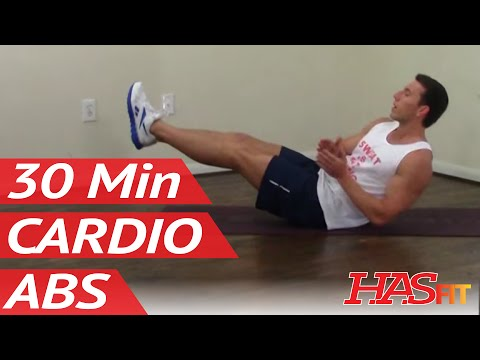 30 Min Annihilation Cardio Abs Workout for Men & Women at Home