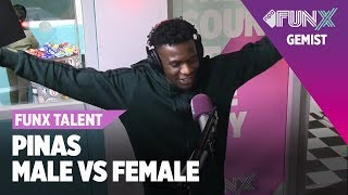 Sevn Alias Ft. Maan - In Amsterdam (Pinas Remix) | FunX Talent Male vs. Female