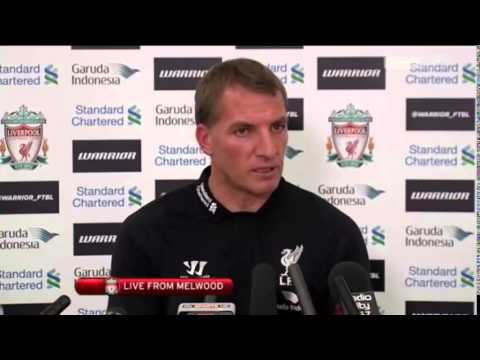 Brendan Rodgers Pre Tottenham Press Conference