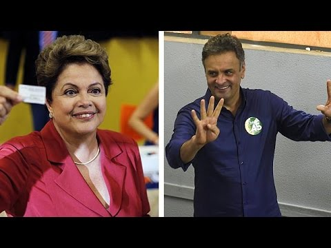 Brazil presidential run off: Rousseff v Neves
