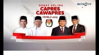 (Full) Debat Kelima Pilpres 2019: Ekonomi, Kesejahteraan Sosial, Keuangan, Investasi, dan Industri.