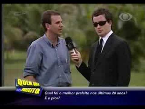 CQC: Quem Quer Ser Prefeito? Rio de Janeiro - 28/07/08