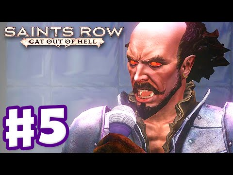 Saints Row: Gat Out Of Hell - Gameplay Walkthrough Part 5 - Shakespeare! (pc, Xbox One, Ps4) video