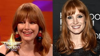 Are Jessica Chastain & Bryce Dallas Howard The Same Person!?   The Graham Norton Show