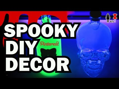 Spooky DIY Decor, Corinne VS Pins