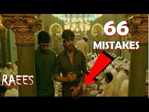 Raees Full Movie  MIstakes (66 Mistakes) |Sahrukh khan , Mahira Khan | Galti Se Mistake EP .17 thumbnail