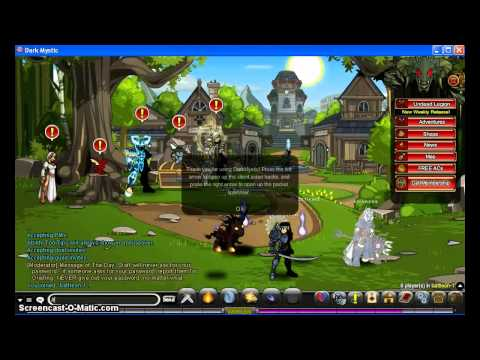 Aqw Hack Client ~ Dark Mystic ~ Spawn items EveryShop open!