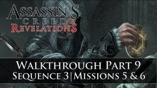 Assassins Creed - Revelations 100% Sync Walkthrough Part 9 (Sequence 3 | Memory 5 & 6)