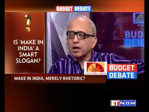 Budget Debate | Make In India Vs Serve From India #BudgetForAchheDin