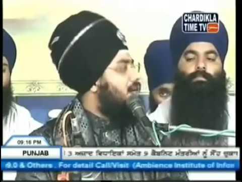 ek baba nanak si  ..Tv  report (Dhadhrian  wala vs babbu mann...