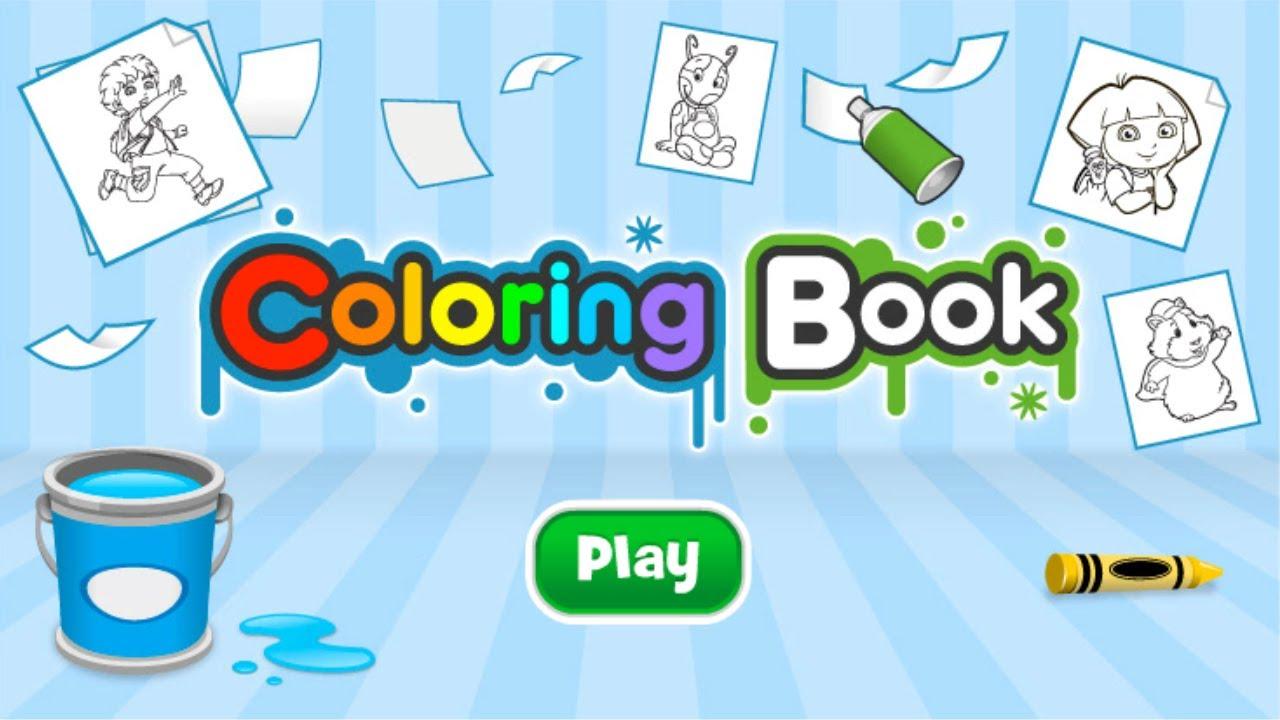 Nickelodeon Coloring Book Nickelodeon Coloring Book