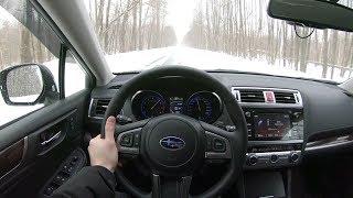 2017 Subaru Outback POV Test Drive
