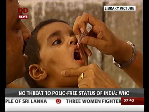No threat to Polio-free status of India: WHO
