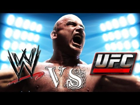 WWE vs. UFC (feat. Bas Rutten)