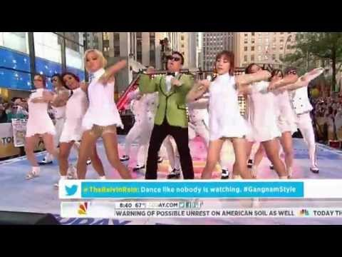 PSY - GANGNAM STYLE NBC Today Show! 09/14 싸이 미국방송 라이브