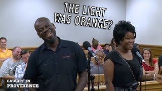 The Light was Orange and the Stabbed Guy