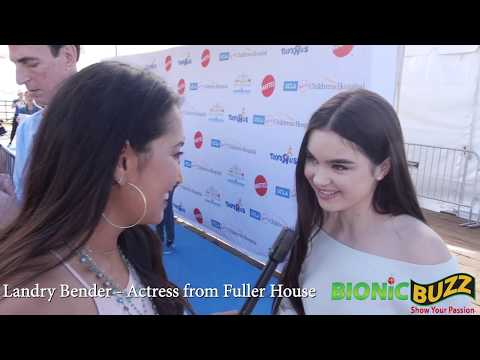 Landry Bender Interview at Party on the Pier